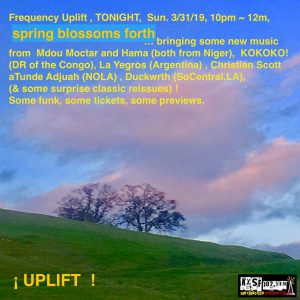 Frequency Uplift! Podcast  (Sunday, September 1st) – KXSF-LP